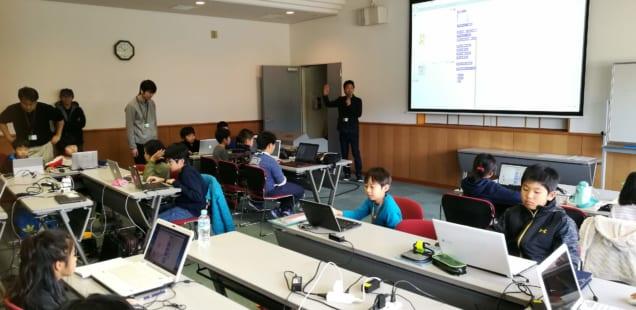 「朝日町の東海道の歴史とプログラミングを学ぶ」子ども向け プログラミングワークショップのレポート